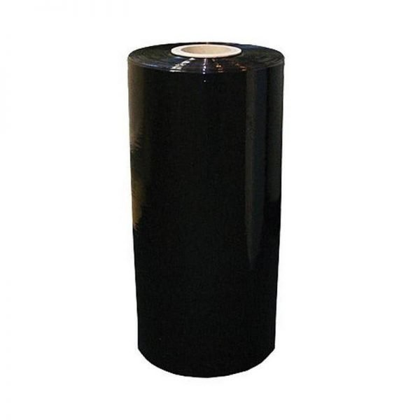 Machine stretch film black