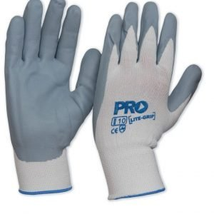 ProSense LiteGrip nitrile foam backed gloves