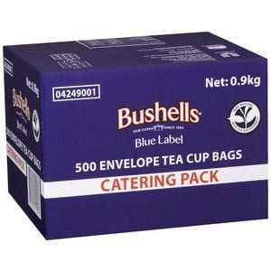 Bushells 500 Envelope Tea Cup Bags