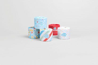 WGAC Classic 100% recycled toilet tissue