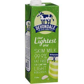 Devondale Skim Milk 1 litre
