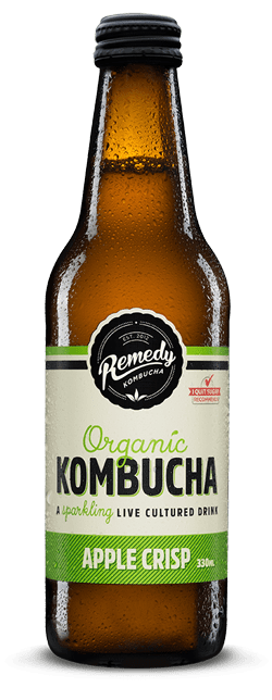 Remedy Kombucha Apple Crisp 330ml Spritzed