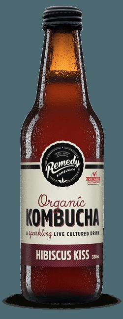Remedy Kombucha Hibiscus Kiss 330ml Spritzed