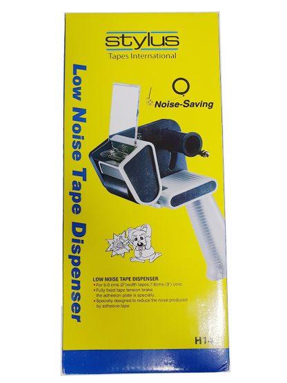 stylus low noise packaging tape dispenser