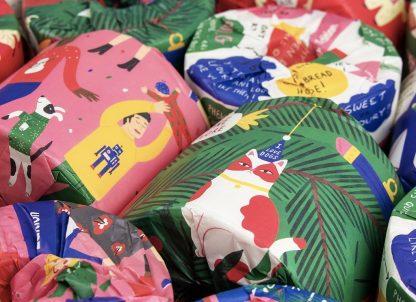 WGAC Happy Edition gift wrapped rolls