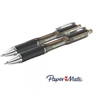 Paper Mate Profile® Elite Retractable Ballpoint Pens Twin Pack