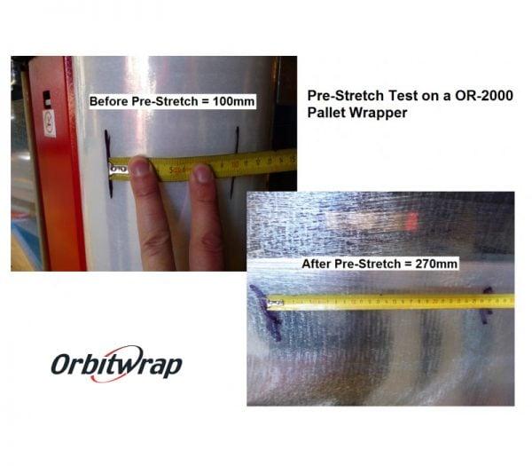 Packline OR-2000 Pre-Stretch Test