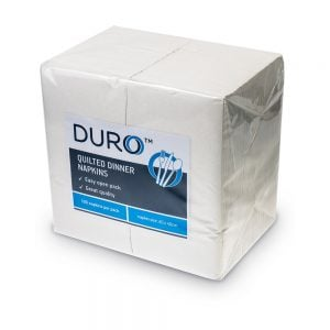 Duro Quilted Dinner Napkin GT Fold