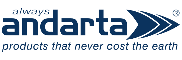 Always Andarta, products that never cost the earth.
